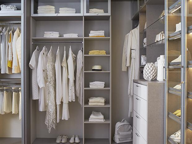 Once your california closets system is installed youll have a stunning blank canvas to work with as you begin to place your items inside