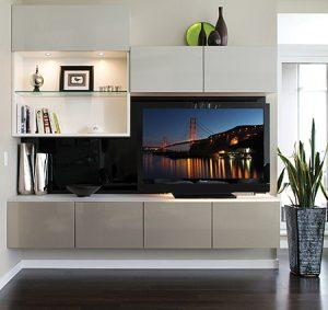 California Closets - Entertainment Center