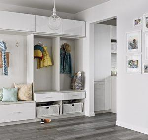California Closets - Mudroom