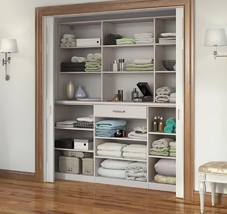 Hallway Closet Ideas Amp Linen Cabinets From California Closets