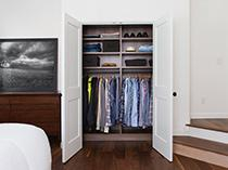 California Closets Spotlight Reach In Closet