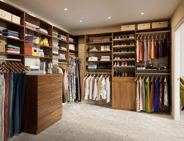 installation in walk affordable flat luxury concrete design closet closets panel