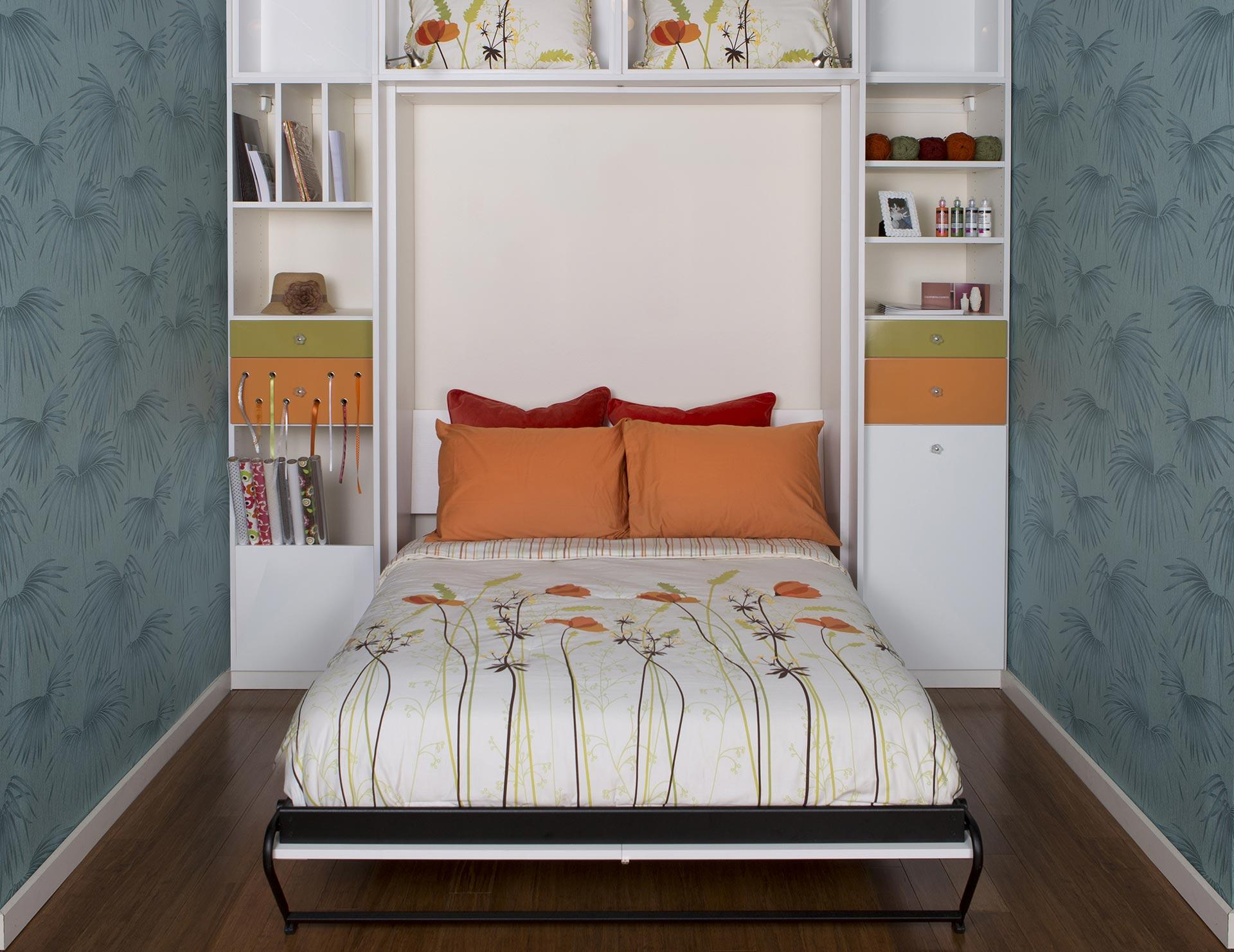 California Closets Vancouver - Guest Room with Murphy Bed