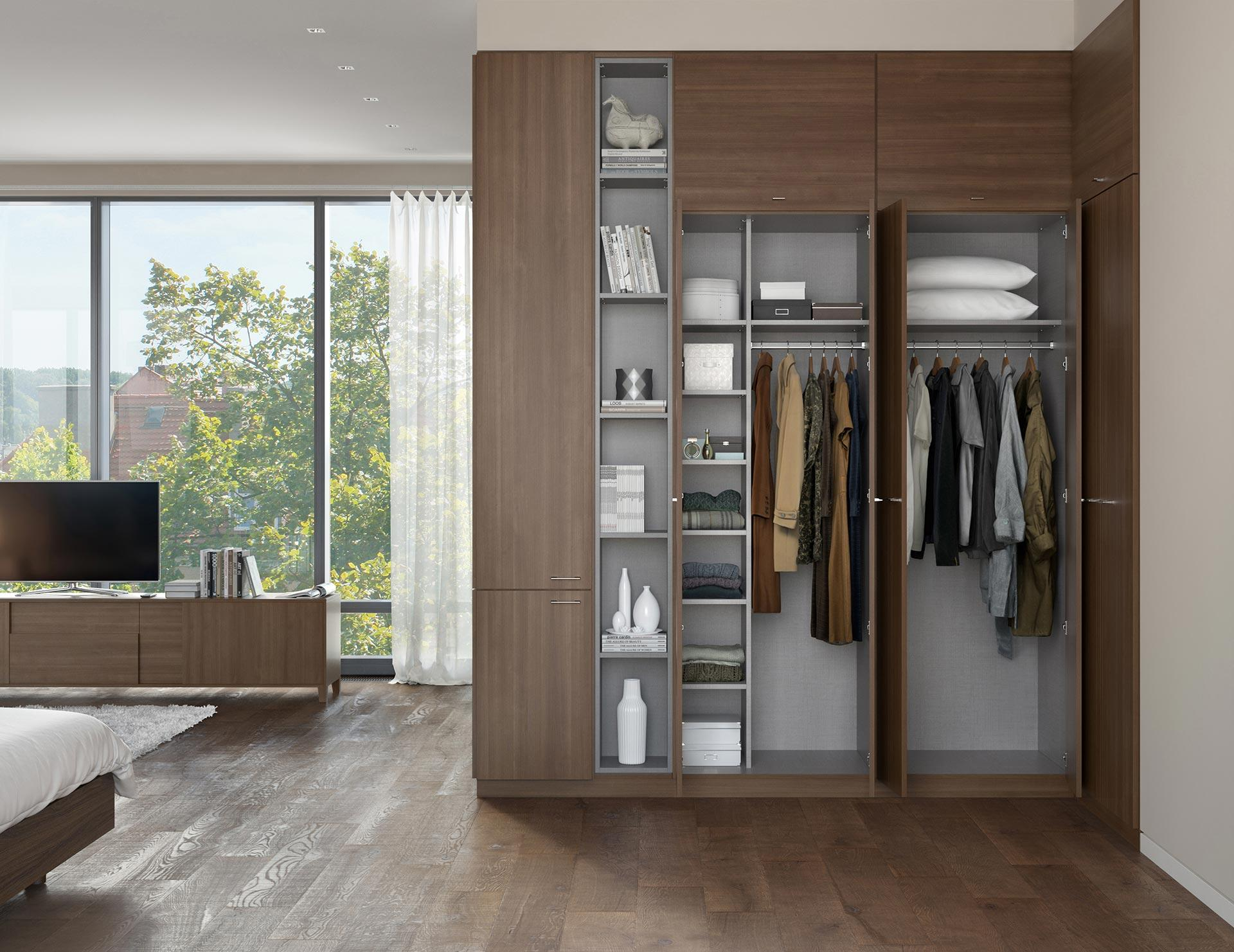 California Closets Calgary - Built-in Wardrobe