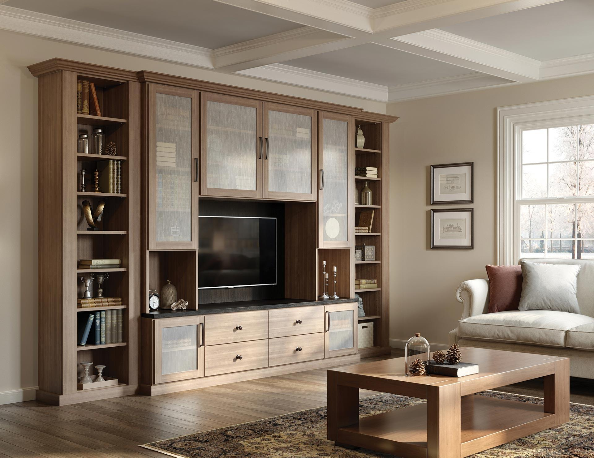 California Closets Toronto - Tisbury Living Room and Entertainment Center