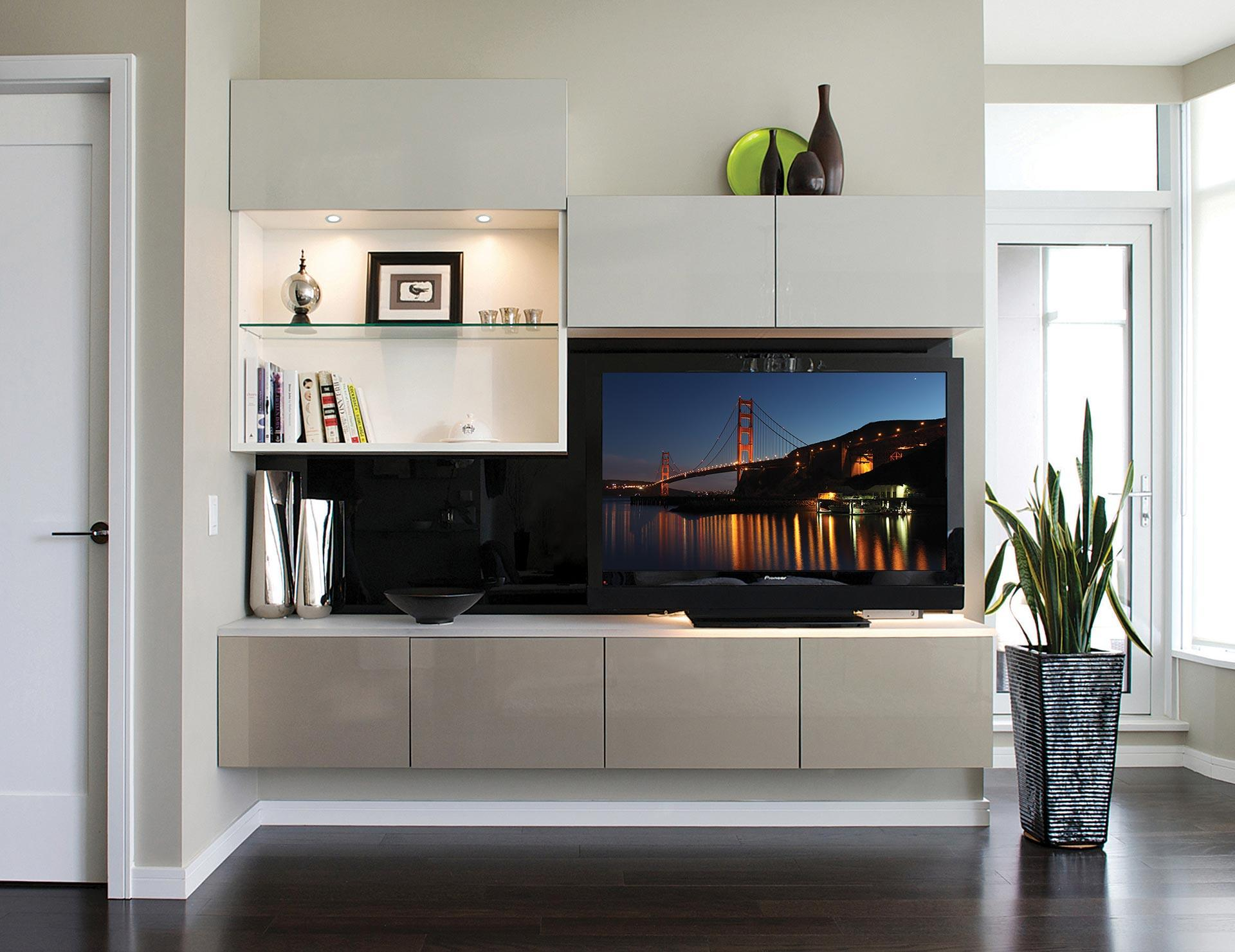 Wall Media Center Solutions And TV Units