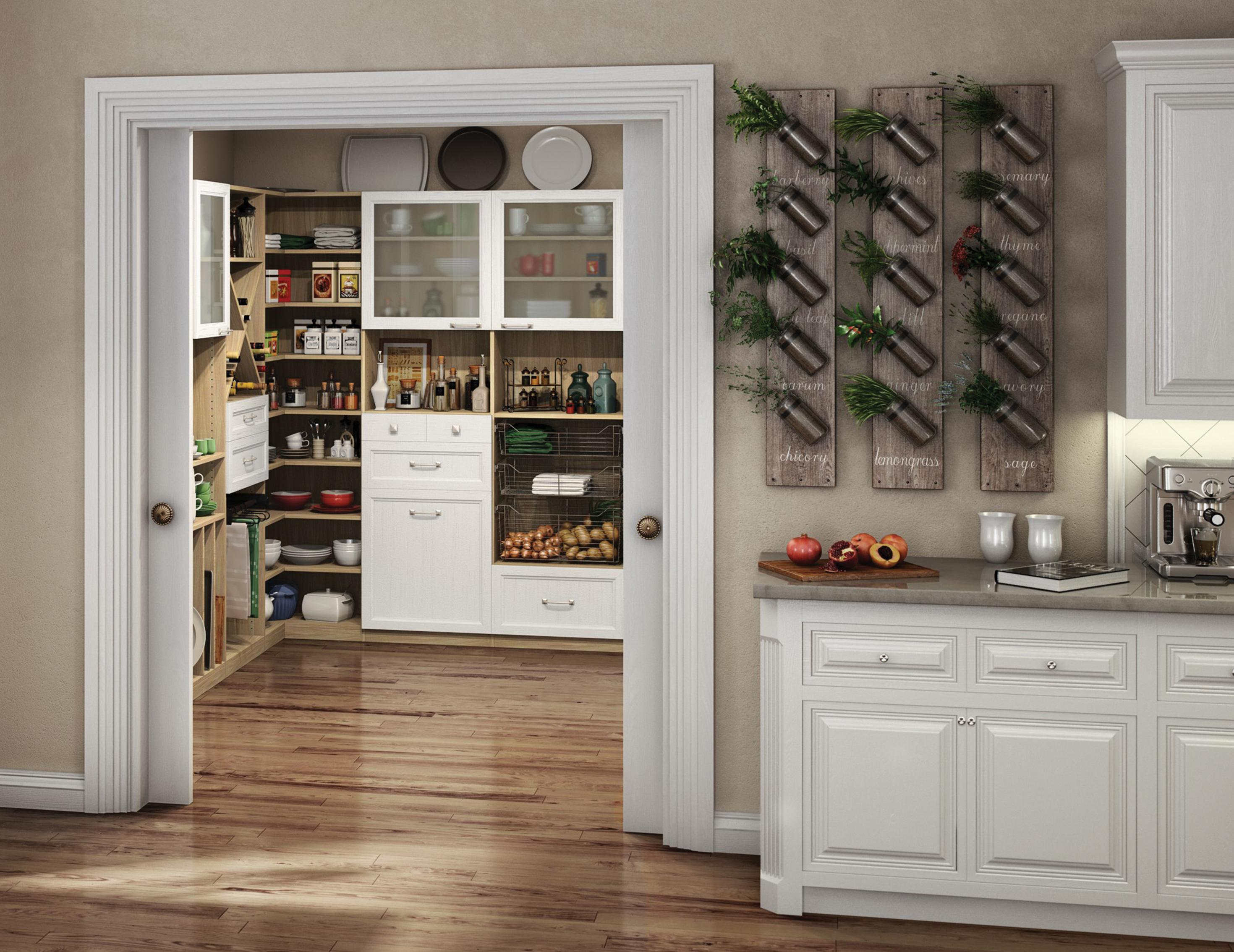 California Closets Windsor- Garde-manger de chef