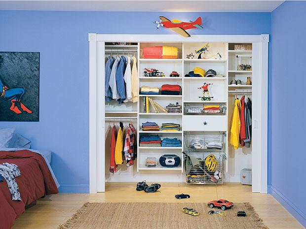 storage shelves kids tips ideas closet and organizers design bedroom