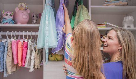 How Stunning New Closets Delight Mother-Daughter Duo