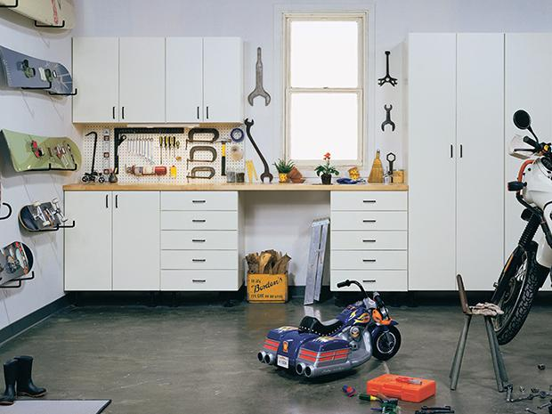 GREAT STORAGE IDEAS FOR EVERY GARAGE