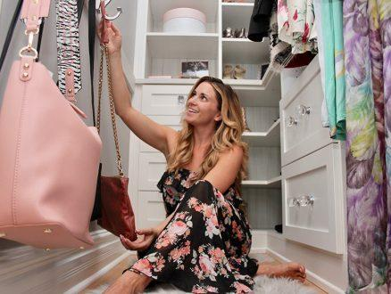 Kari Skelton Client Story Decorating White Walk in Closet