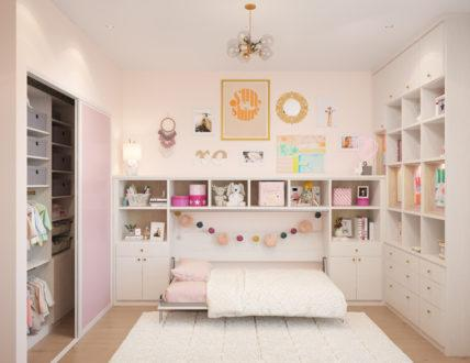 Click to view AMELIA WALL BED & PLAYROOM