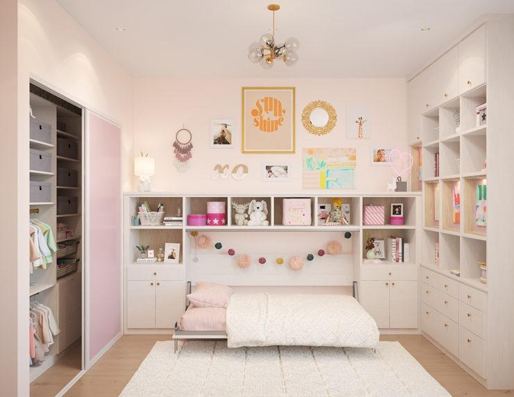 AMELIA WALL BED & PLAYROOM